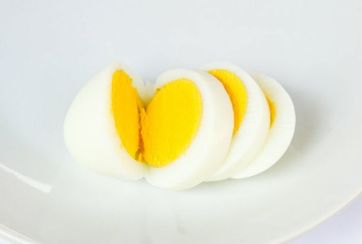Hard-Boiled Eggs in the Microwave: 9 medium eggs 1 cup of water Directions  In a microwave safe bowl, nuke the water until hot (roughly three minutes).  Place the nine eggs carefully in the bowl, and cover. Use a microwave-safe plate.  On 50 percent power, microwave the eggs for eight minutes.