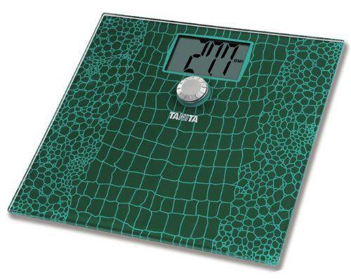 Tanita – HD-383 – Balance Digitale avec Imc – Affichage XXL – Vert Croco: Portée 150 kgGrand écran, LCD 50 mmPlateau en verre extra plat…