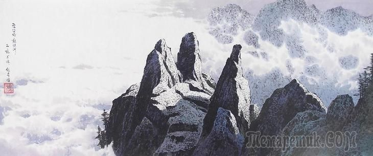 Корейская живопись. Сон У Ён - Sun Woo Yong (선우영). КНДР