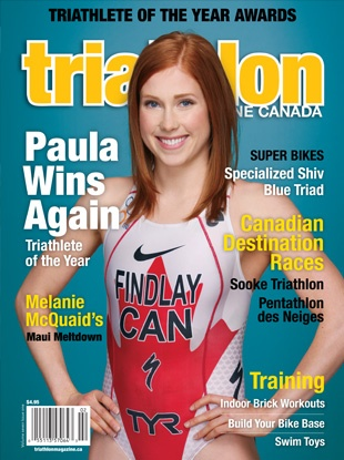 Triathlon Canada, featuring UAlberta student Paula Findlay