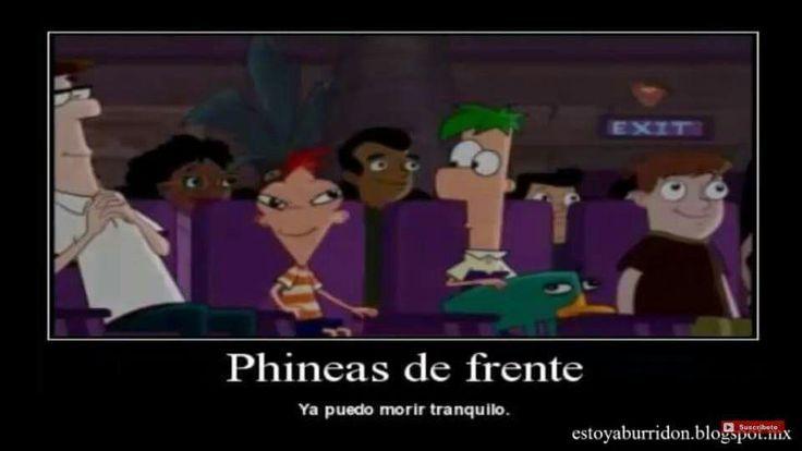 Phineas de frente e