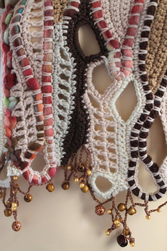 Freies Häkeln - super----Freeform häkeln - crochet by levintovich