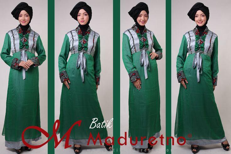 Fashion Abaya from Batik Tulis Madura, Batik Tulis Indonesia, Batik Maduretno