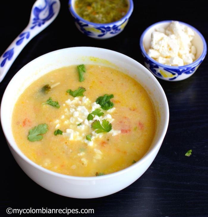 Locro Nariñense (Potato and Cheese Soup)
