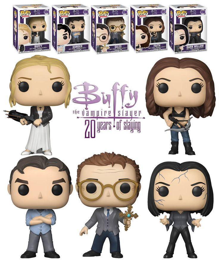 Funko Pop! Television Buffy The Vampire Slayer 20 Years Of Slaying Bundle (5 POPs) - New, Mint Condition. #Funko #FunkoPop #BuffyTheVampireSlayer #Collectibles