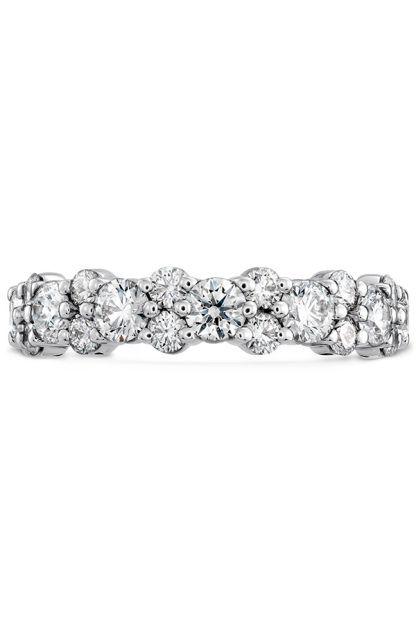 Gracious Diamond Band | Wedding Bands | Hearts on Fire | StyleMePretty | Lookbook