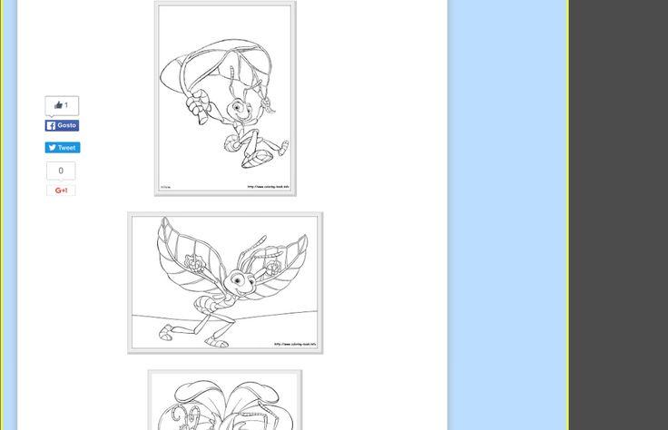 """"""" Desenhos para colorir e imprimir """": DESENHOS PARA COLORIR FILME FORMIGUINHAS http://www.colorir-desenhos.com/2011/05/desenhos-para-colorir-filme.html . Desenho animado FormiguinhaZ e suas mensagens... Desenho para colorir"""