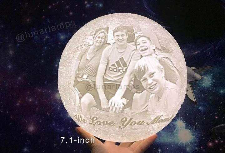 Customized Moon Lamp Moon Light Lamp Personalized Gifts Gifts
