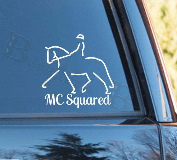 Best Buckstitched Beckys Custom Decals Images On Pinterest - Decals for trucks customizedhorse decals horse stickersgraphics for horse trailers