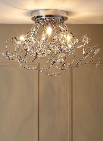 Lila flush ceiling light flush fitting ceiling lights home lighting