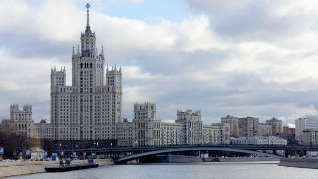 Bandeira ucraniana é fincada em arranha-céu de Moscou - Mundo - Notícia - VEJA.com