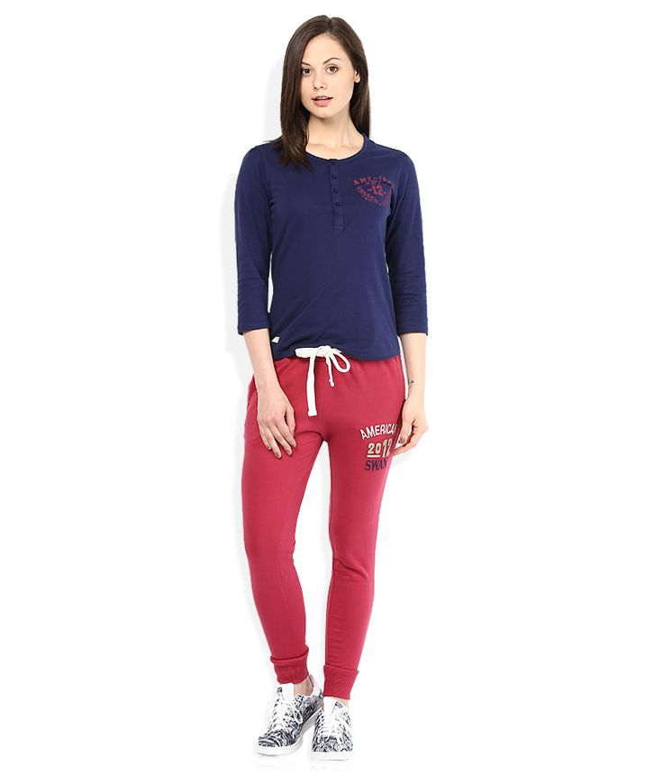 American Swan Red Trackpants