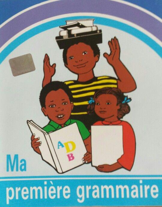 Livre de grammaire en primaire.