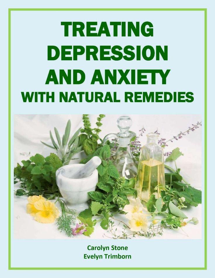 Treating Depression Naturally Book
