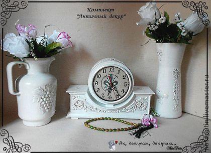 """набор """"Античный декор"""" белый"""