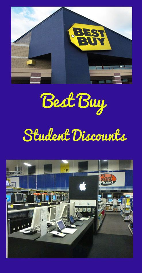 Get student discounts at Best Buy !!! (TV's, laptops, digital cameras, etc.)