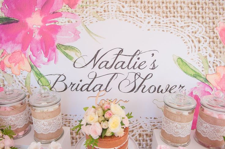 Watercolour Pink Bridal Shower | Cakes Inc  #wedding #weddings #weddingideas #weddingblog #weddingblogger #weddinginspiration #weddingaccessories #weddingstyle #pink #bridalshower #weddingshower #pinkparty #vintage #vintageparty #burlap #pretty #prettyparty