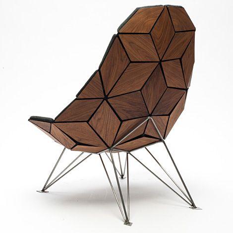 Jonas Sondergaard Nielsen : Tiles #fauteuil