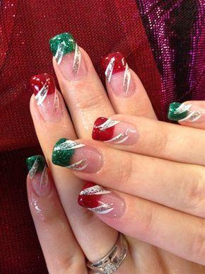 Little Bit of Christmas by nglagola - Nail Art Gallery nailartgallery.nailsmag.com by Nails Magazine www.nailsmag.com #nailart