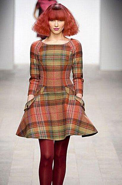 Full Autumn style! Fashion Show Paul Costelloe London