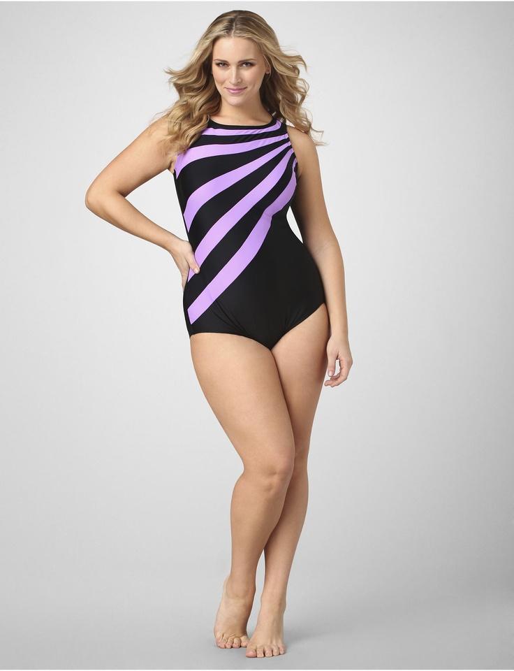25 best images about Plus Size Swimwear on Pinterest | Swim, Plus ...
