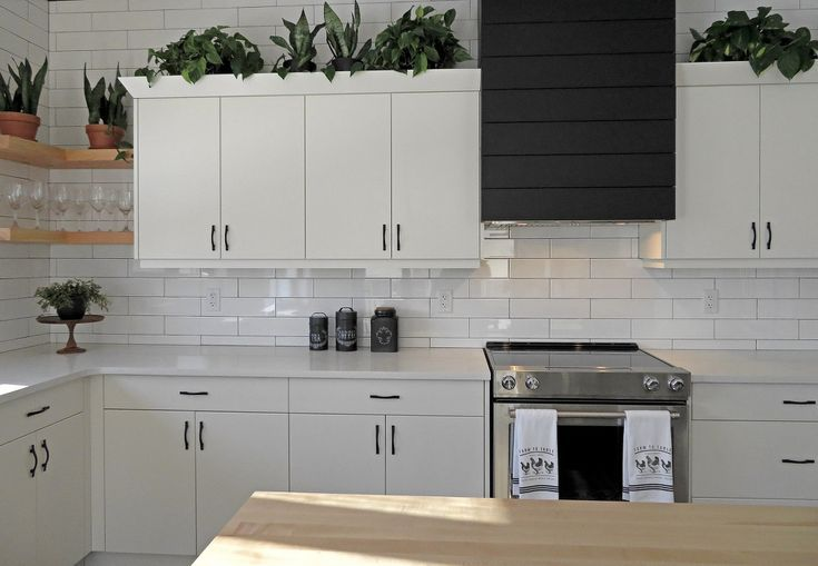 10 New Ideas For Decorating Above Your Kitchen Cabinets Kitchen