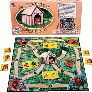 Cooperative Game from Family Pastimes  The Adventures of Harley #cooperation #game #children www.cooperativegames.com