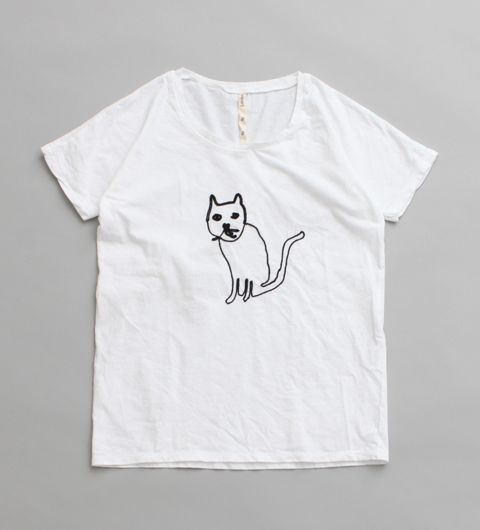 fig London CAT刺繍Tシャツ | Sumally