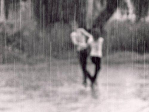 Playing in the rain =)