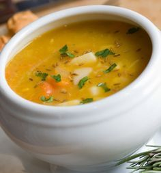 Recetas de Sopas de Verduras