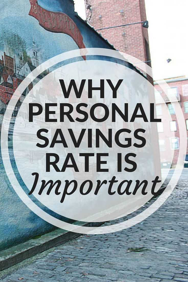 High costs of living and unpredictable stock market returns are just a couple of reasons why our finances feel more challenging than ever. So how do we take back control? Our personal savings rate. | Cashville Skyline