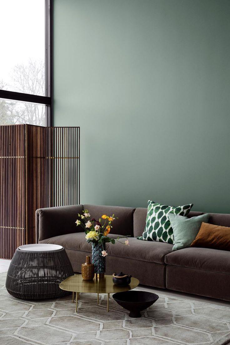 Die schönsten Stoffe in der Trendfarbe Grün