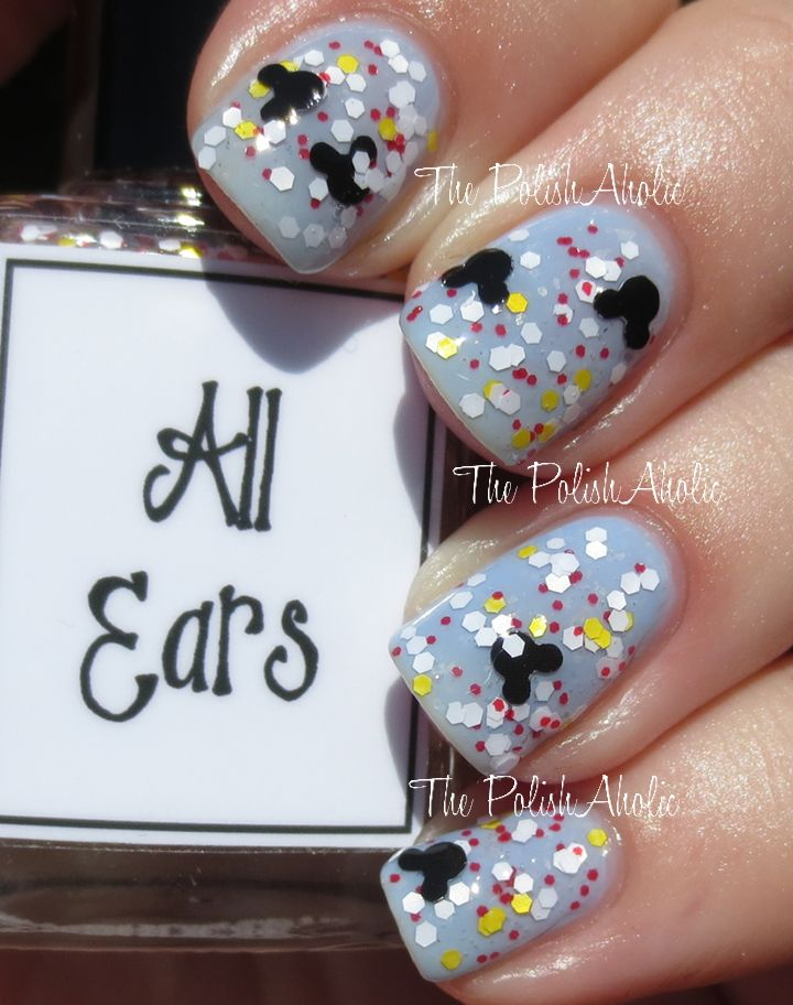 """All Ears"" Disney polish! The PolishAholic: Whimsical Ideas by Pam Summer 2014 Collection Swatches & Review"