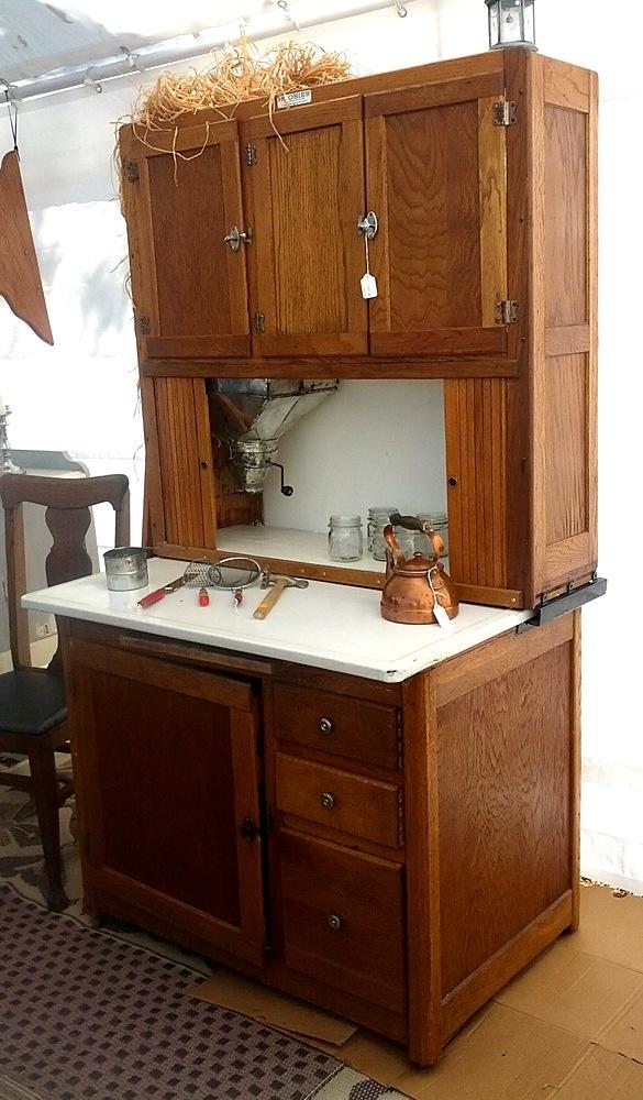 369 best Vintage Hoosier Cabinets images on Pinterest | Hoosier ...