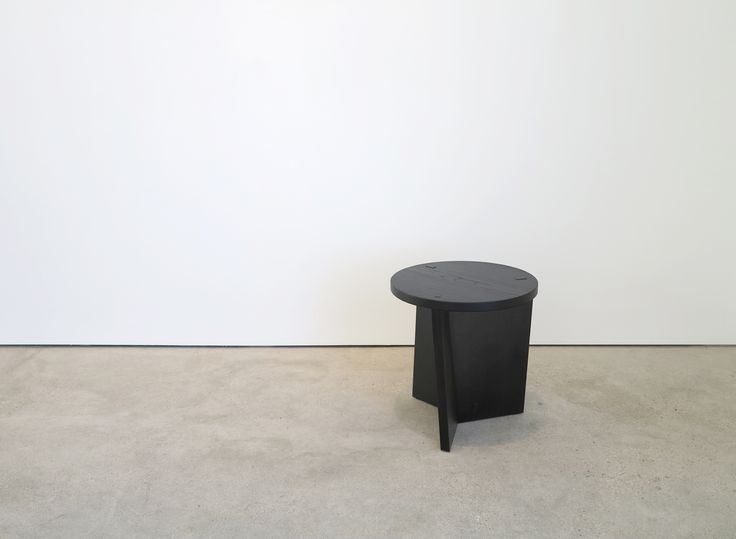 Marfa Twist stool/small table for NIKARI by Claesson Koivisto Rune. Specially made for the inde / jacobs gallery in Marfa, Texas.