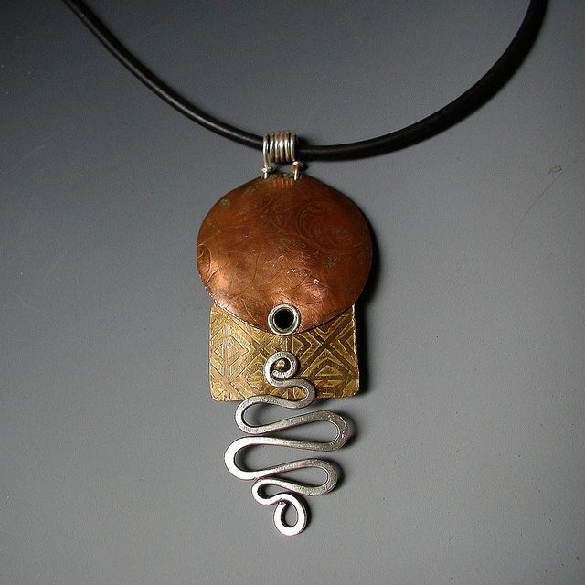 10 best metal working projects images on pinterest metal working pendant etched mixed metals flickr photo sharing metal jewellerycopper audiocablefo