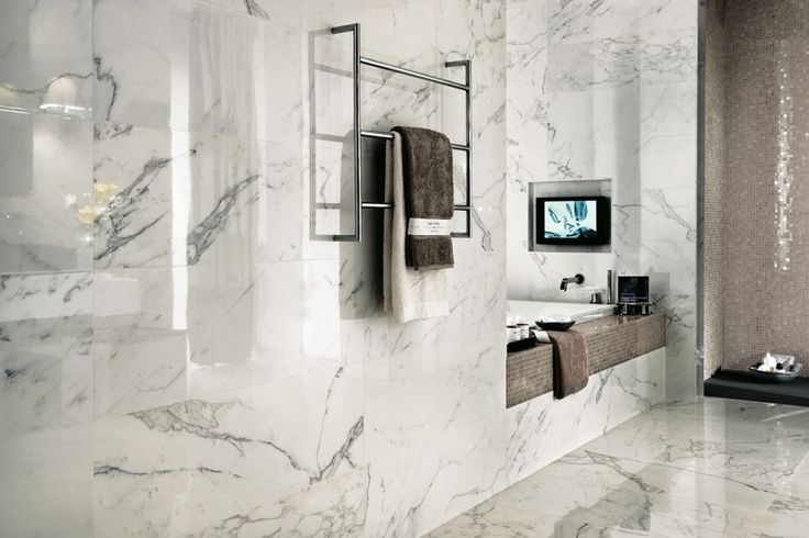 Marble tiles for bathroom walls flooring | Marvel - Atlas Concorde Champagne Onyx Shiny
