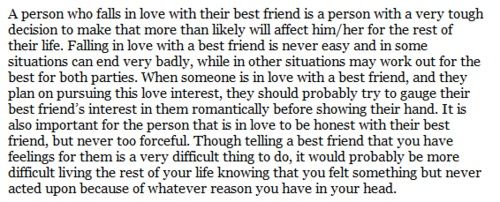 Falling For My Best Friend Quotes