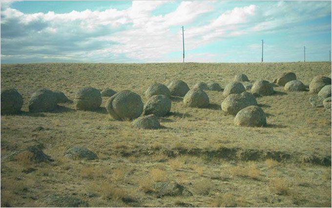 Concretions. Гигантские шаровые конкреции мира, происхождение септарий,трованты