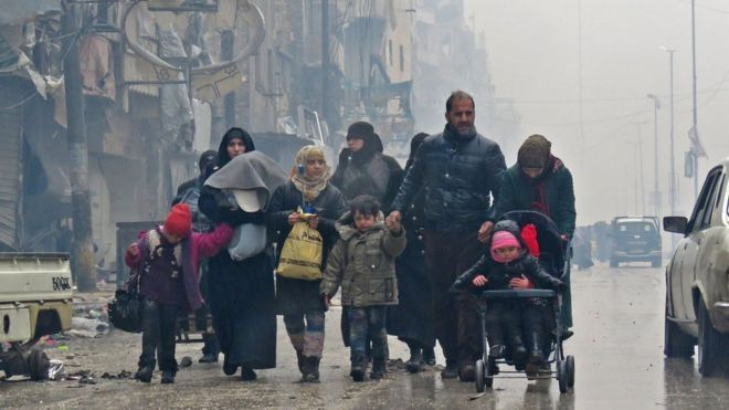 Aleppo+battle:+Thousands+trapped+in+violence