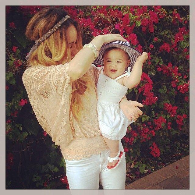 Britt Nicole and Ella