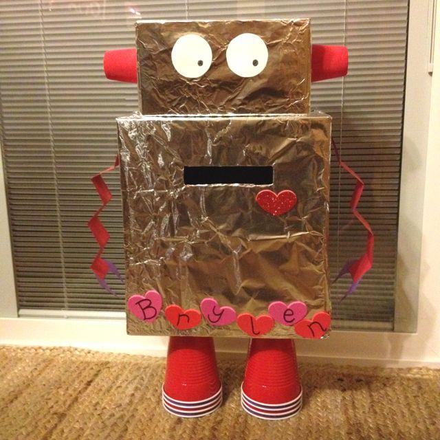 robot Valentine box. :)