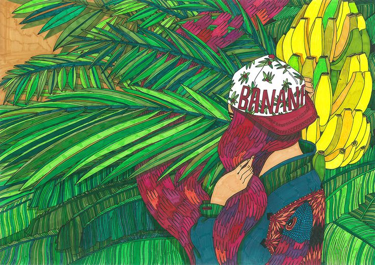 illustration by ALICA GURINOVA, illustrator represented by Owl Illustration Agency