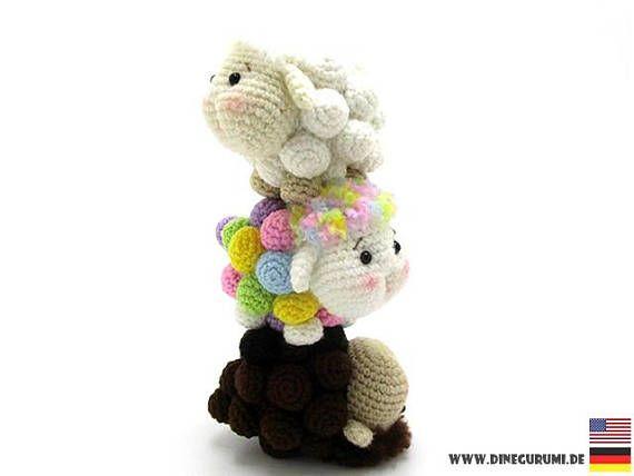 Free Amigurumi Lamb : Sheep family crochet pattern sheep amigurumi sheep crochet sheep