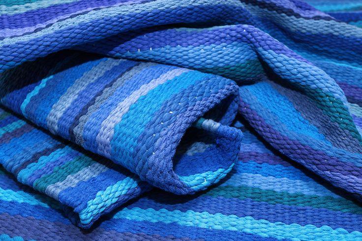 "piece woven carpet.   ""Infinity"""
