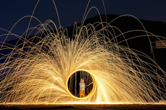 Steel Wool Photography Tutorial - Living in Another Language