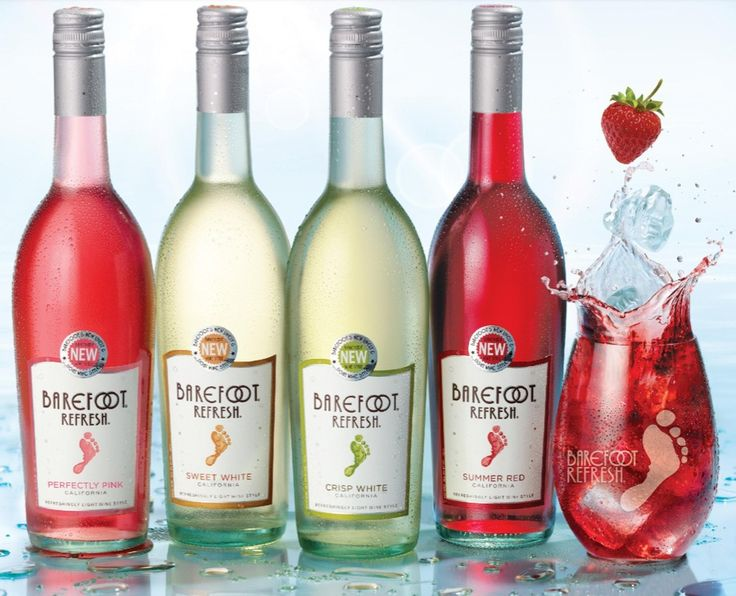 I just tried the new barefoot refresh and to say it is Wine cooler brands