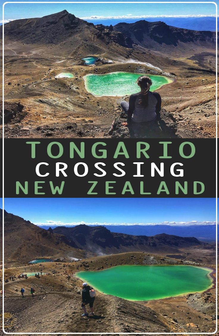 Guide: Tongariro Crossing, North Island – New Zealand