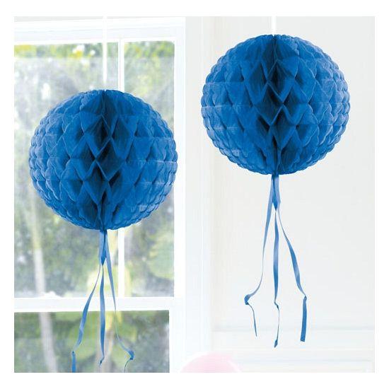 Kleuren versiering, Decoratie bol blauw 30 cm bij Feestwinkel Fun en Feest Belgi�. Online Decoratie bol blauw 30 cm bestellen. Verzending Belgi� � 9,95.