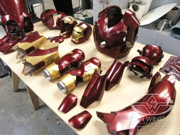 Iron Man - The Real Iron Man Suit | Stan Winston School of Character Arts